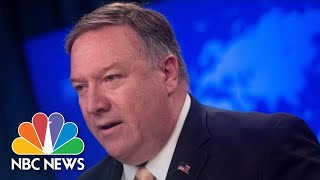 Mike Pompeo Confirms US Citizens Killed In Sri Lanka Attacks | NBC News