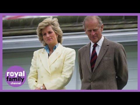 The Duke of Edinburgh and Princess Diana's Warm Relationship