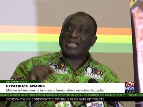 Expatriate Awards - The Market Place on Joy News (18-9-17)