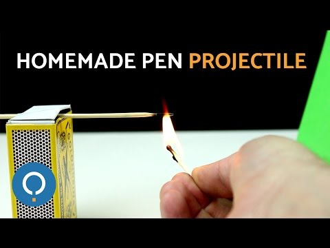 Homemade Pen Tip Projectile