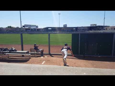 A.J. Puckett - 2016 MLB Draft Prospect - Warming Up