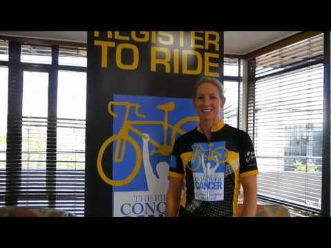 Ride to Conquer Cancer Auckland - Ali Shanks signs up