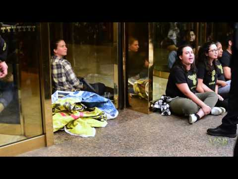 """Illegal Migrants speak  as they Reclaim """"Dignity"""" -Trump Tower NYC"""