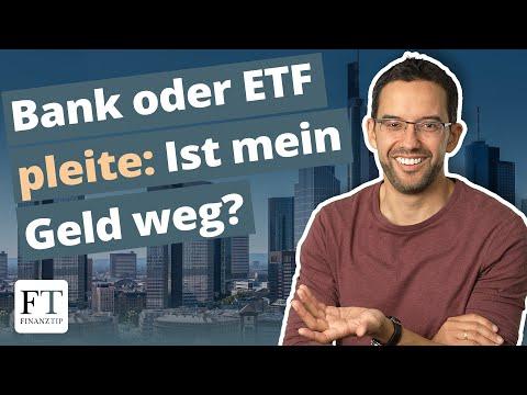 Bank, ETF oder Versicherung insolvent: Was dann? Sondervermögen erklärt
