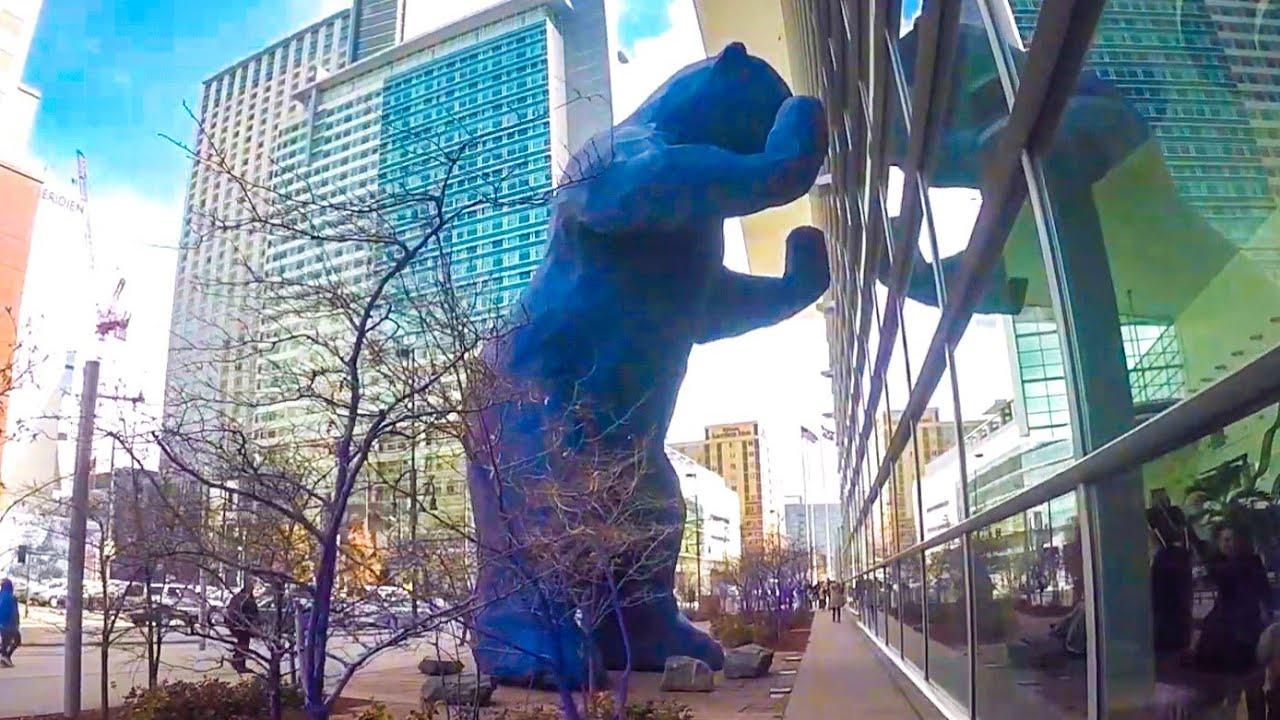 Big Blue Bear Denver Colorado