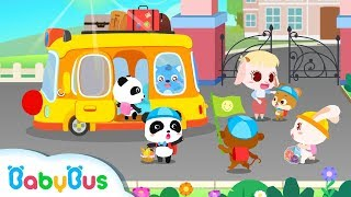 【New】Little Panda's Camping Trip | Barbecue, Picnic, Cooking | Gameplay Video | BabyBus Game
