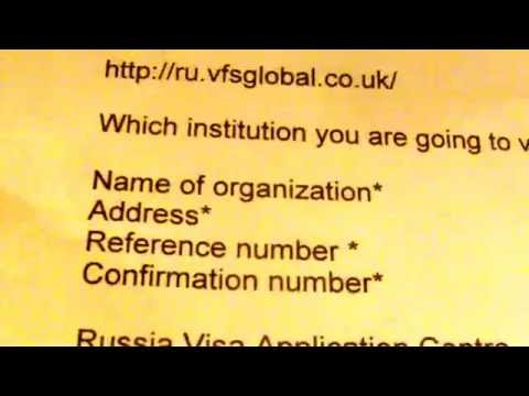 How to Get a Russian Visa UK