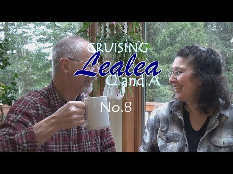 Cruising Lealea Q&A #8 - Solar Panels and Watermaker