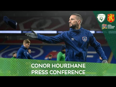 PRESS CONFERENCE | Conor Hourihane ahead of UEFA Nations League match against Bulgaria