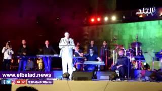 إيمان البحر درويش في ختام مهرجان القلعة: تحية لشهداء مصر.. فيديو وصور
