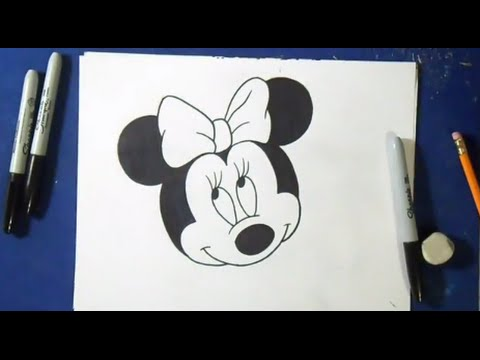 comment dessiner minnie mouse