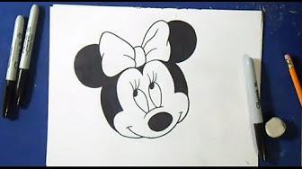 Dessin FACILE pour Debutant Disney - YouTube