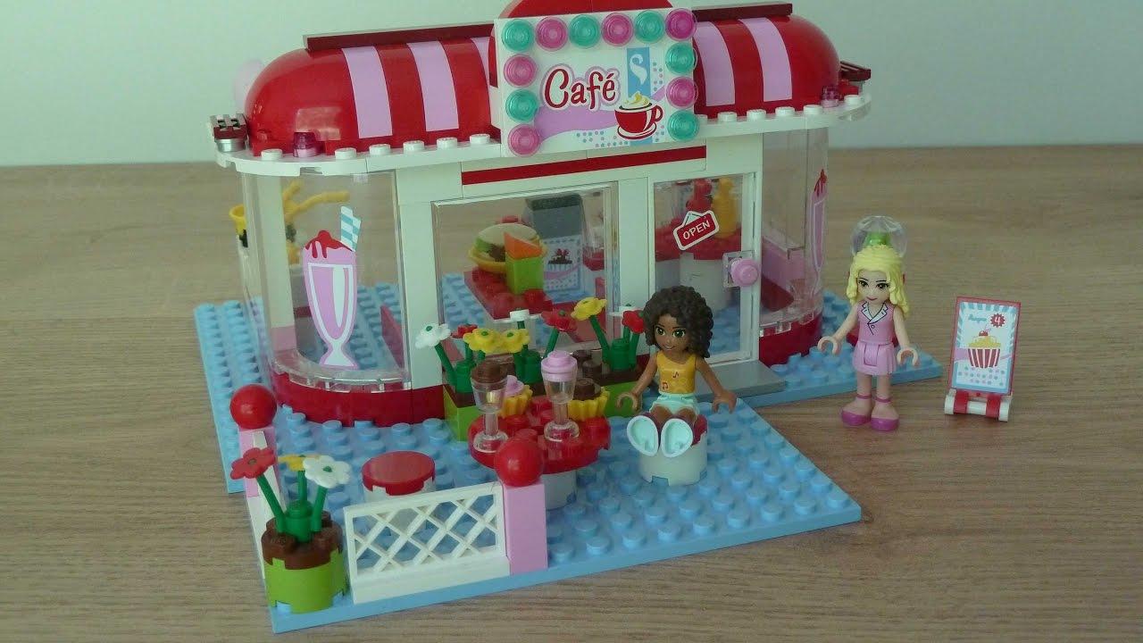 Lego 3061 Lego Friends City Park Cafe Youtube