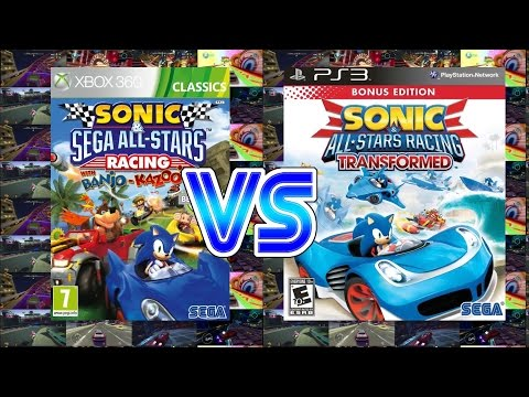 Sonic and Sega All Stars Racing Vs Sonic and All Star Transformed (Xbox 360/PS3)