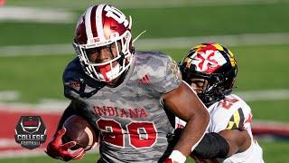 Maryland Terrapins Vs. Indiana Hoosiers | 2020 College Football Highlights
