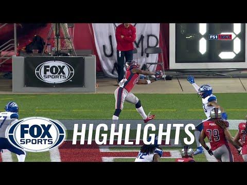 P.J. Walker throws 3 TD's as Roughnecks beat Battlehawks, 28-24 | 2020 XFL HIGHLIGHTS