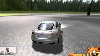 3D Audi TT Sürme - 3D Oyuncu - 3D Araba Oyunları