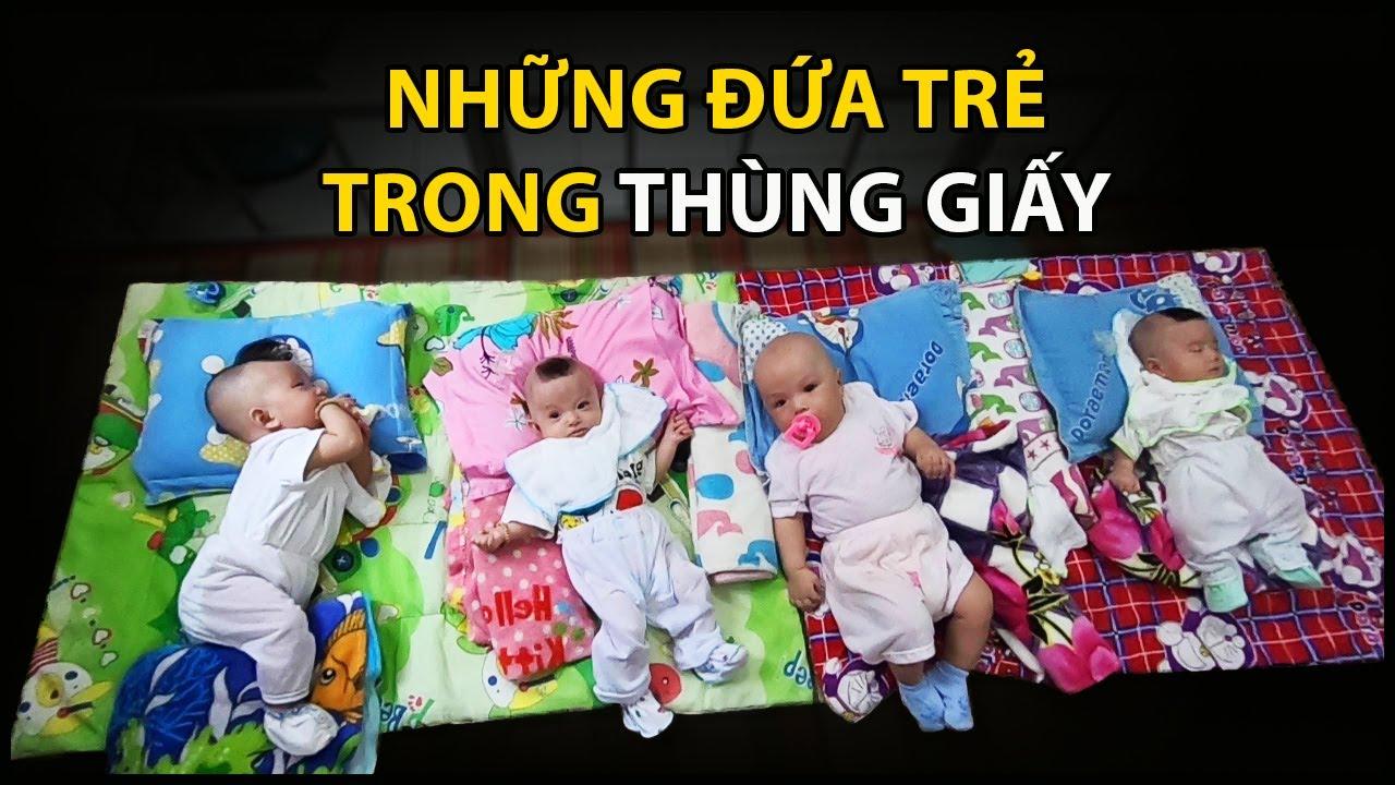 Những đứa trẻ bị bỏ rơi trong thùng giấy đã khỏe mạnh, thèm được ẵm bồng| QUỐC CHIẾN Channel