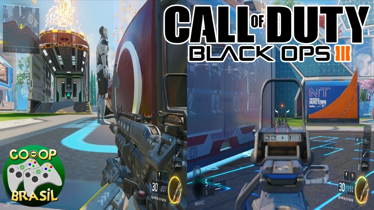 Call of Duty: Black Ops 3 | Multiplayer | Split Screen (PC) | PT-BR