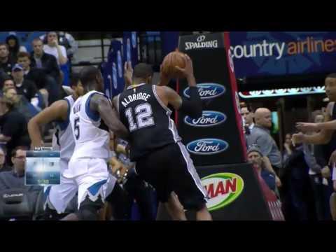 San Antonio Spurs Top 10 Plays of 2015-2016 Season