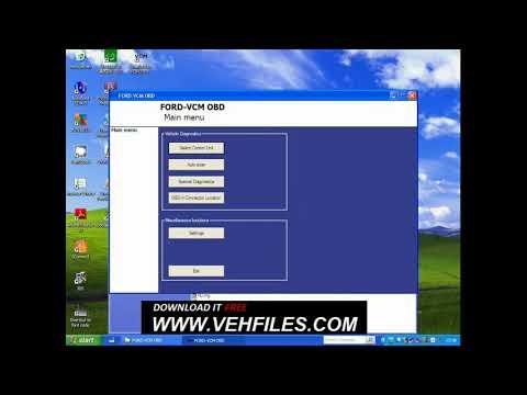 Ford-VCM OBD full install video