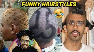 Download Funniest Hairstyles (You laugh You lose) Oye Velle Mp3 and Videos