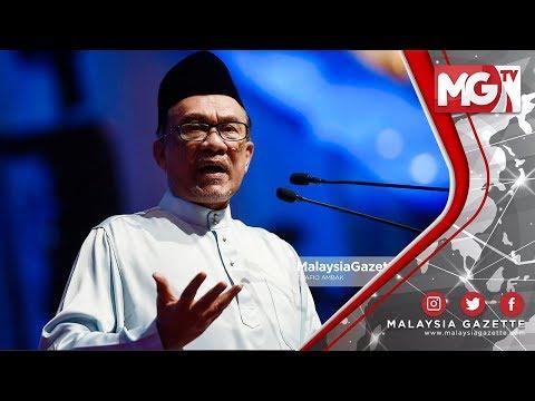 """TERKINI : """"Saya Akan Masuk Parlimen! Saya Bersama Pembangkang"""" - Anwar Ibrahim"""