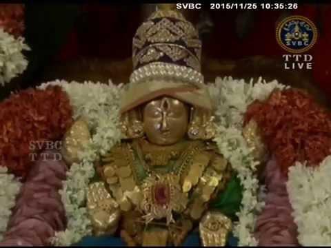 SVBC TTD-Sri Padmavathi Ammavari Kalyanotsavam Tiruchanoor  25-11-15