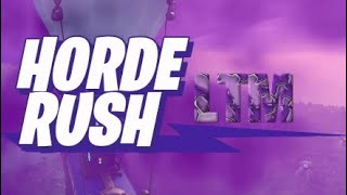 Fortnite BEST WAY TO GET 200K POINTS IN HORDE RUSH!
