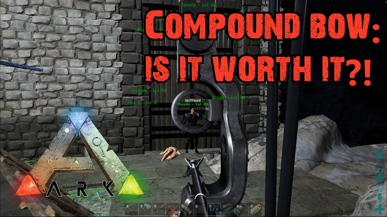 Ark survival evolved compound bow is it worth it youtube malvernweather Gallery