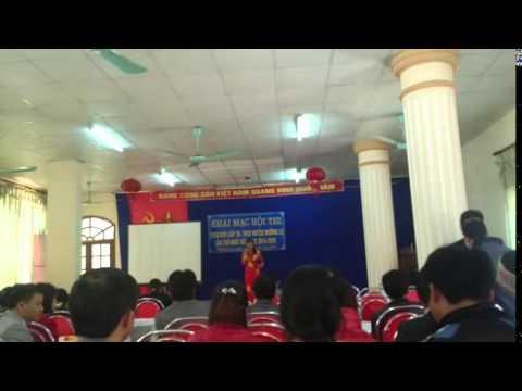 Hội thi GVCN giỏi huyện Mường La _ Phần thi kể chuyện của cô Lù Thị Kem