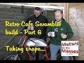 Retro Cafe Scrambler build part 6