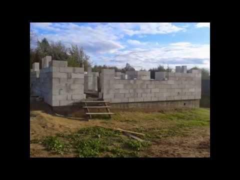 видео: Мой дом из газобетона своими руками или как я провел лето!!!