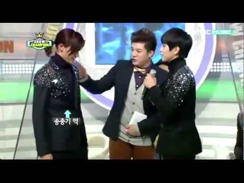 121204 Sandeul & CNU Acting Cut (A Werewolf Boy)