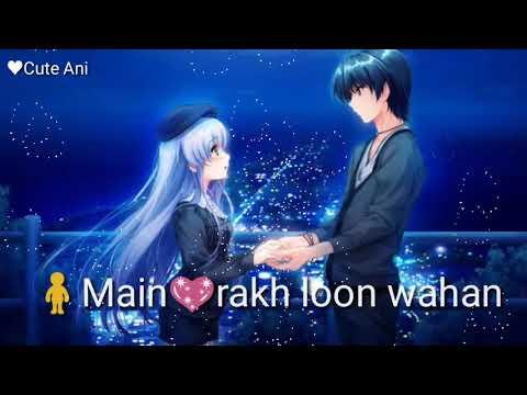 Hawayein Whatsapp Status   Tujhko Main Rakh Loon Wahan   Love Song Lyrics   Whatsapp Status Video