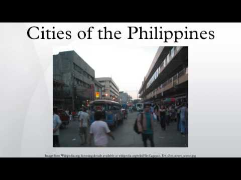 Cities of the Philippines