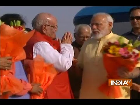 PM Narendra Modi arrives in Lucknow ahead of International Yoga Day celebrations
