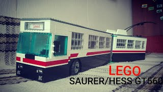 Lego троллейбус Saurer/hess gt…