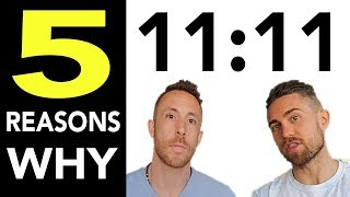 5 Reasons Why You Keep Seeing 11:11 (1111 Meaning With Aaron Doughty)