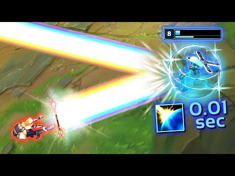 Reacting With SUPERSONIC Speeds - Perfect Reflexes Montage - League of Legends