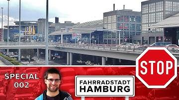 Der Flughafen Hamburg während der Corona-Pandemie - Special 002 | Fahrrad Dashcam Hamburg