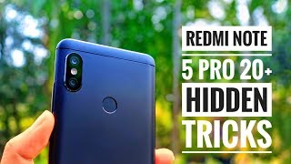 20+ Hidden Features of Redmi Note 5 pro | New Tips and Tricks | By TubeTech