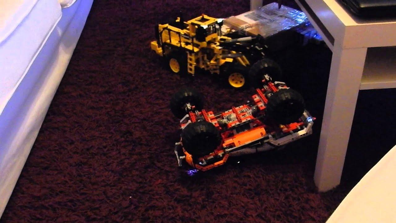 Lego: spielen mit getunten Lego Technik Autos