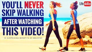 #lifeskillzz You'll NEVER Skip Walking After You Watch This! Mp3