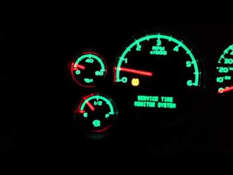 07 gmc yukon oil pressure problems