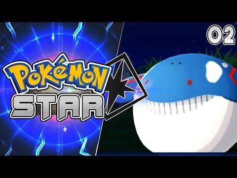 Pokemon Star 3DS Rom Hack Part 2 ALOLAN WAILMER! Gameplay Walkthrough