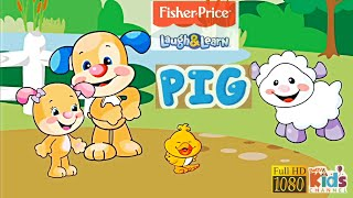 Learn & Play Fisher-Price: ABCs, Colors, Shapes for kids Game Review 1080p Official Homer Learning screenshot 1