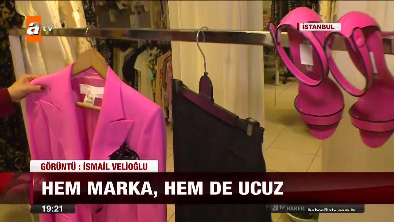 3800c4f93c845 Hem marka, hem de ucuz kıyafetler - 02.05.2015 - atv - YouTube