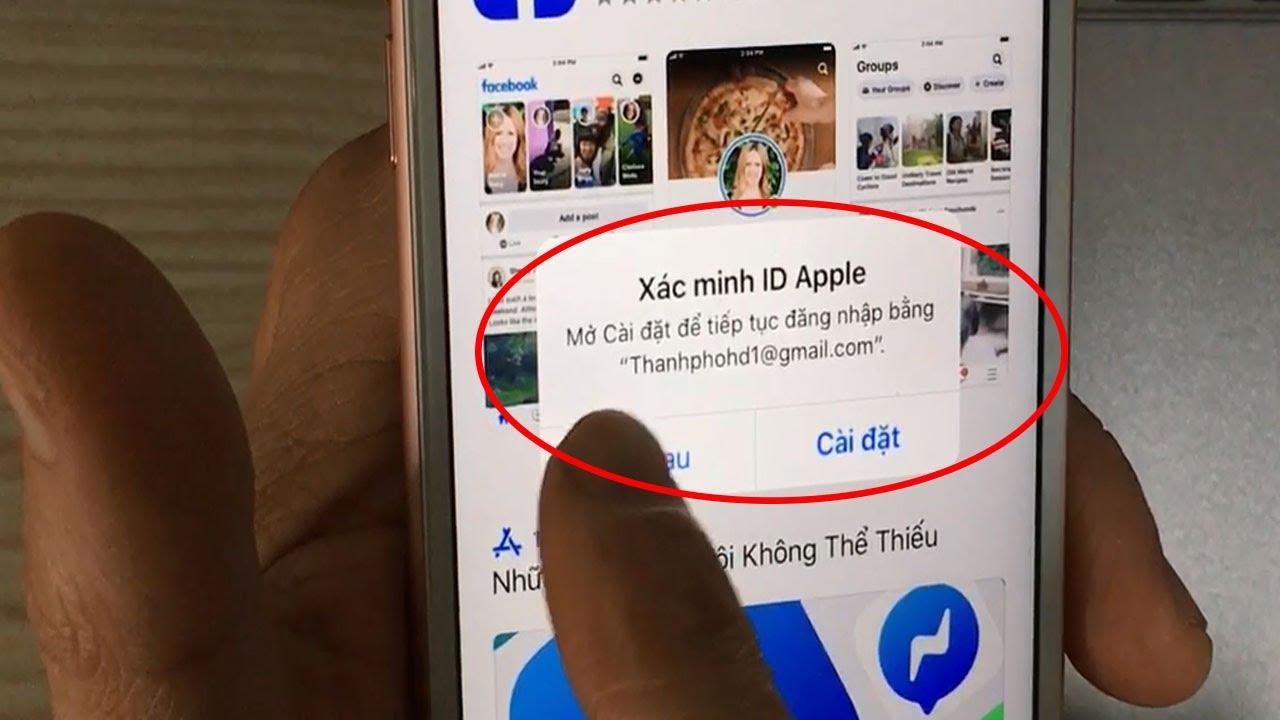 Lỗi Xác Minh ID Apple