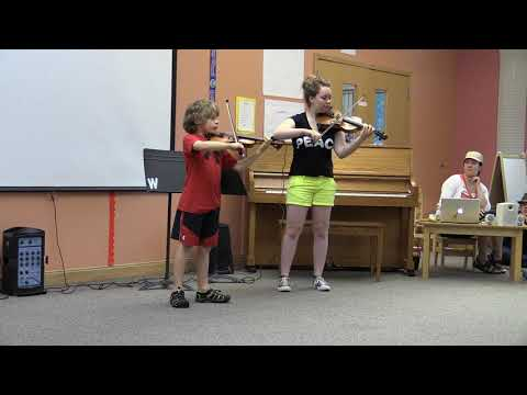 Liam and Fiona Edberg play Wishing at Willowwind School